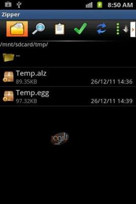 ایجاد و باز کردن فایل های زیپ در اندروید 7Zipper v3.7.1