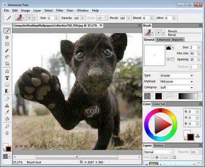 دانلود نرم افزار حرفه ای نقاشی Artweaver Plus 6.0.4.14435