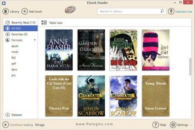 مشاهده کتاب های الکترونیکی با فرمت EPUB در ویندوز IceCream Ebook Reader 5.07