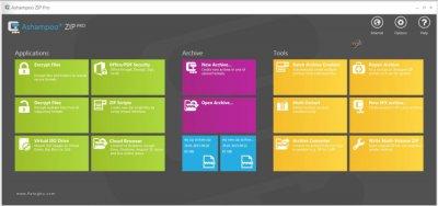 ایجاد و مدیریت فایل های فشرده Ashampoo ZIP Pro 2.0.0.43
