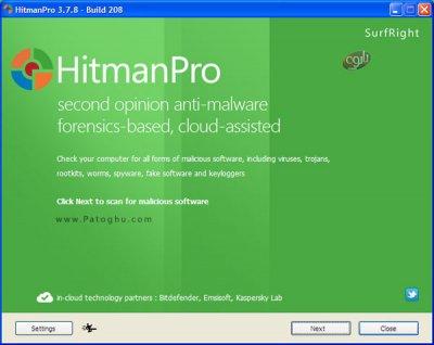 دانلود آنتی ویروس جدید و کم حجم هیتمن برای کامپیوتر Hitman Pro 3.7.14.265