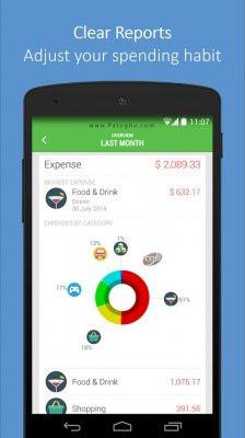 نرم افزار مدیریت امور مالی برای اندروید Money Lover Money Manager Premium 3.6.81