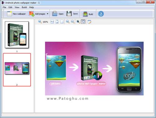 ساخت آسان والپیپر برای اندروید Android Photo Wallpaper ...