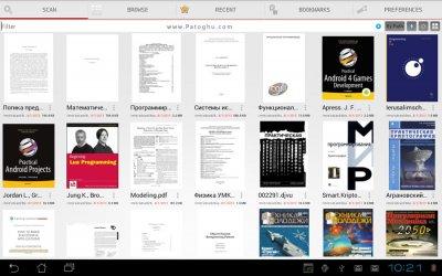خواندن کتاب های PDF در اندروید PRO PDF Reader v4.6.2