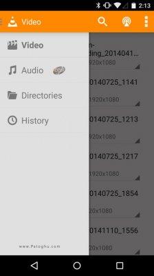 پخش اکثر فرمت های فیلم و موزیک با پلیر قوی اندروید VLC for Android v2.5.6