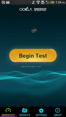 تست سرعت اینترنت در اندروید Speedtest.net Premium v3.2.42