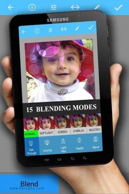 نرم افزار ترکیب و میکس عکس در اندروید Image Blender Instafusion 3.0.5.26
