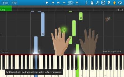 دانلود نرم افزار آموزش پیانو Synthesia v10.1