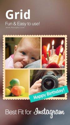 دانلود Photo Grid Photo Collage Maker v6.45 نرم افزار کلاژ و ترکیب تصاویر در اندروید