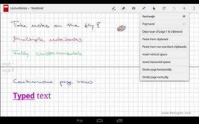 یادداشت برداری با دست خط خودتان در اندروید LectureNotes v2.7.239