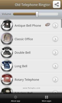 مجموعه رینگتون کلاسیک برای اندروید Old Telephone Ringtones Pro v1.0.2 Final