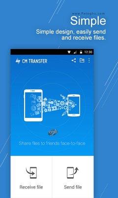 دانلود سی ام ترانسفر - انتقال بسیار سریع فایل ها بین گوشی های اندروید CM Transfer 1.5.8.0363
