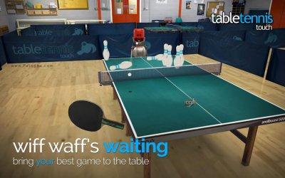دانلود بازی تنیس روی میز با گرافیک بالا برای اندروید Table Tennis Touch 1.1.1602.22