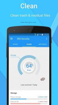 آنتی ویروس 360 سکوریتی برای اندروید 360Security Antivirus 4.2.4.6671