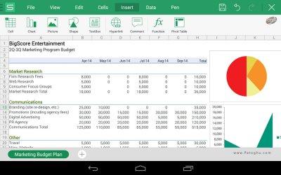 دانلود مجموعه آفیس حرفه ای برای اندروید WPS Office + PDF v10.6