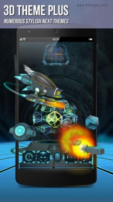 دانلود لانچر سه بعدی اندروید Next Launcher 3D