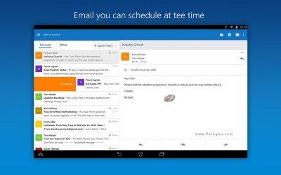 ددانلود مایکروسافت اوت لوک برای مدیت ایمیل ها در اندروید Microsoft Outlook v2.2.31