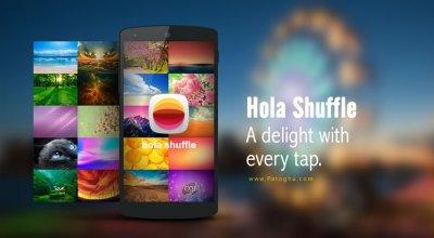 لانچر سریع ، زیبا و قدرتمند هولا برای اندروید Hola Launcher 2.1.4