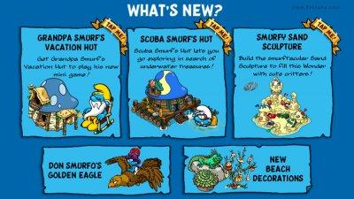 Smurfs Village 1.56.0 دانلود بازی جذاب دهکده اسمورف ها برای اندروید