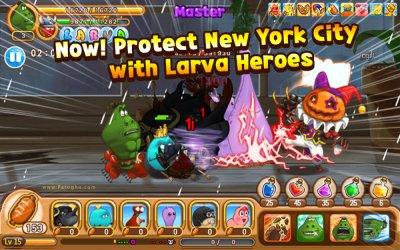 دانلود بازی قهرمانان لاروا برای اندروید Larva Heroes Lavengers 2014 v1.4.2