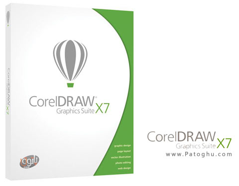نرم افزار CorelDRAW Graphics Suite X7
