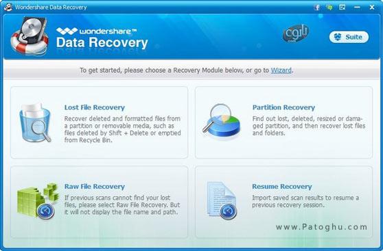 دانلود Wondershare Data Recovery