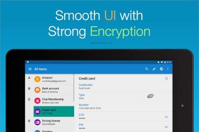 مدیریت و ذخیره رمزهای عبور در اندروید و ویندوز Enpass Password Manager Pro v5.5.7.109