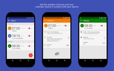 دانلود آلارم پد ابزار قدرتمند هشدار و آلارم اندروید AlarmPad - Alarm clock PRO v1.9