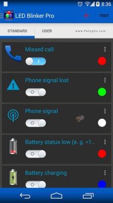 ابزار حرفه ای اطلاع رسانی پیام و تماس های از دست رفته اندروید LED Blinker Notifications Pro v6.6.2.279