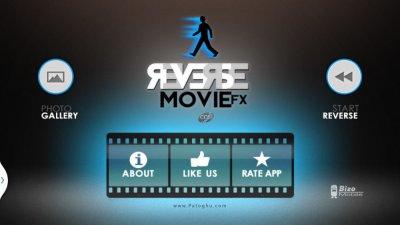 نرم افزار معکوس کردن ویدیو و خلق ویدیوهای جادویی اندروید Reverse Movie FX PRO 1.4.0.1