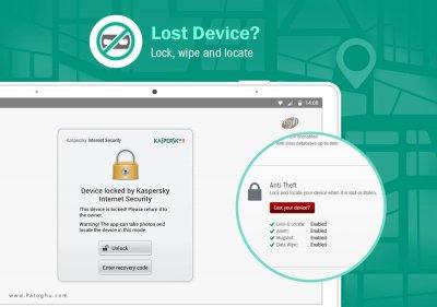 آنتی ویروس کسپرسکی برای اندروید Kaspersky Mobile Security v11.15.4.860