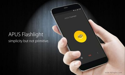 دانلود چراغ قوه قدرتمند برای اندروید APUS Flashlight 1.2.1