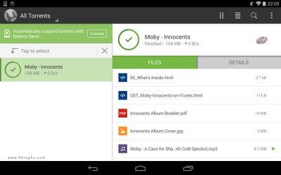 دانلود یوتورنت برای اندروید uTorrent Pro 3.5
