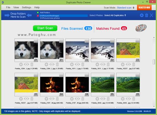 برنامه WebMinds Duplicate Photo Cleaner