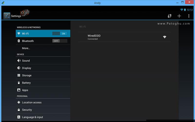 دانلود AndY OS v47 260 1096 26 نرم افزار اندی نصب نرم افزار