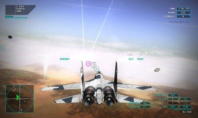 دانلود بازی شبیه ساز نبرد هوایی برای کامپیوتر Vector Thrust