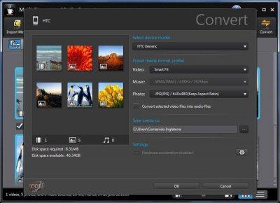 دانلود نرم افزار مبدل فرمت صوتی و تصویری CyberLink MediaEspresso Deluxe 7.0.6618.58727