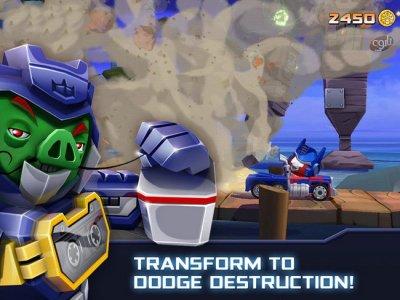دانلود انگری بردز ترانسفورمرز بازی پرندگان خشمگین تبدیل شوندگان Angry Birds Transformers v1.30.04