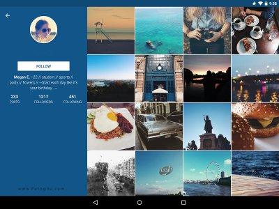 کلاینت اینستاگرام با ویژگی های فوق العاده برای اندروید Imagine for Instagram 2.8.5