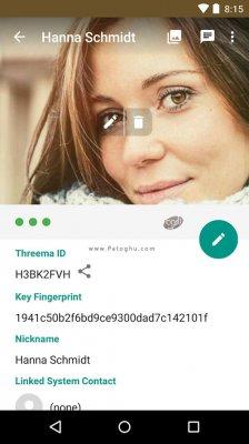 دانلود مسنجر سریع و امن تریما برای اندروید Threema v3.17