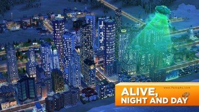 دانلود سیم سیتی بازی شبیه ساز شهر سازی برای اندروید SimCity BuildIt 1.21.2.71359