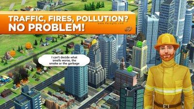 دانلود سیم سیتی بازی شبیه ساز شهر سازی برای اندروید SimCity BuildIt 1.20.51.68892