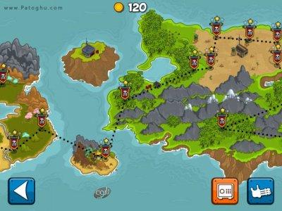 دانلود بازی کم حجم دفاع از جزیره ها برای کامپیوتر Islands Defense