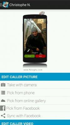 نمایش عکس تماس گیرنده به طور تمام صفحه برای اندروید Full Screen Caller ID PRO 12.4.2.496
