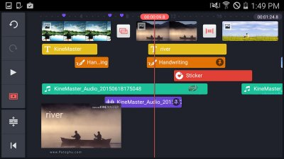 ویرایشگر ویدیو اندروید KineMaster 4.2.0.9810.GP