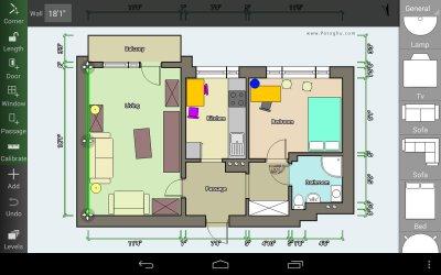 نرم افزار نقشه کشی برای اندروید Floor Plan Creator v3.1.7 PRO