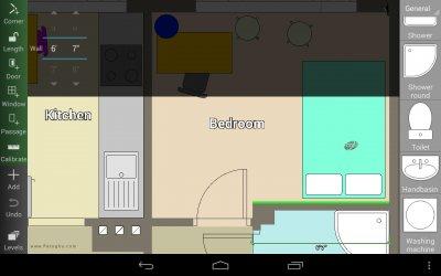 نرم افزار نقشه کشی برای اندروید Floor Plan Creator v3.2 PRO