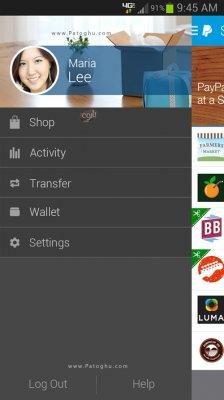 نرم افزار پی پال برای اندروید PayPal 6.16 for Android