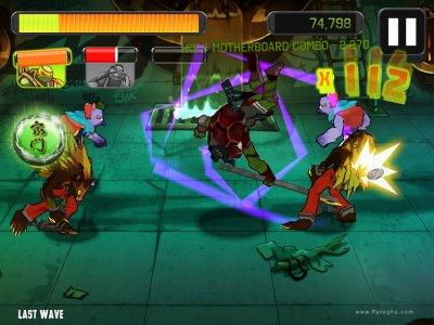 دانلود بازی اکشن لاک پشت های نینجا برای اندروید TMNT Brothers Unite 1.0.2