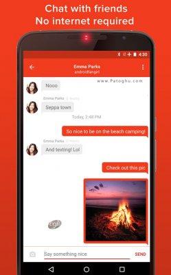 دانلود فایرچت FireChat v7.0.5 ابزار چت بدون نیاز به اینترنت